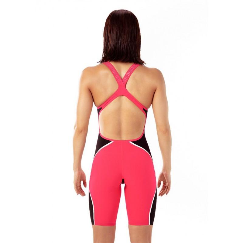 Женский гидрокостюм Speedo Fastskin LZR Pure Intent Openback Розовый
